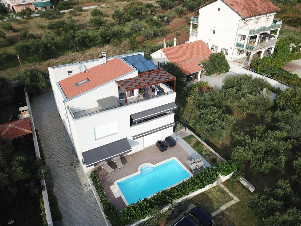 Ferienwohnung Appartement 1 mit Swimmingpool (1920207), Turanj, , Dalmatien, Kroatien, Bild 9