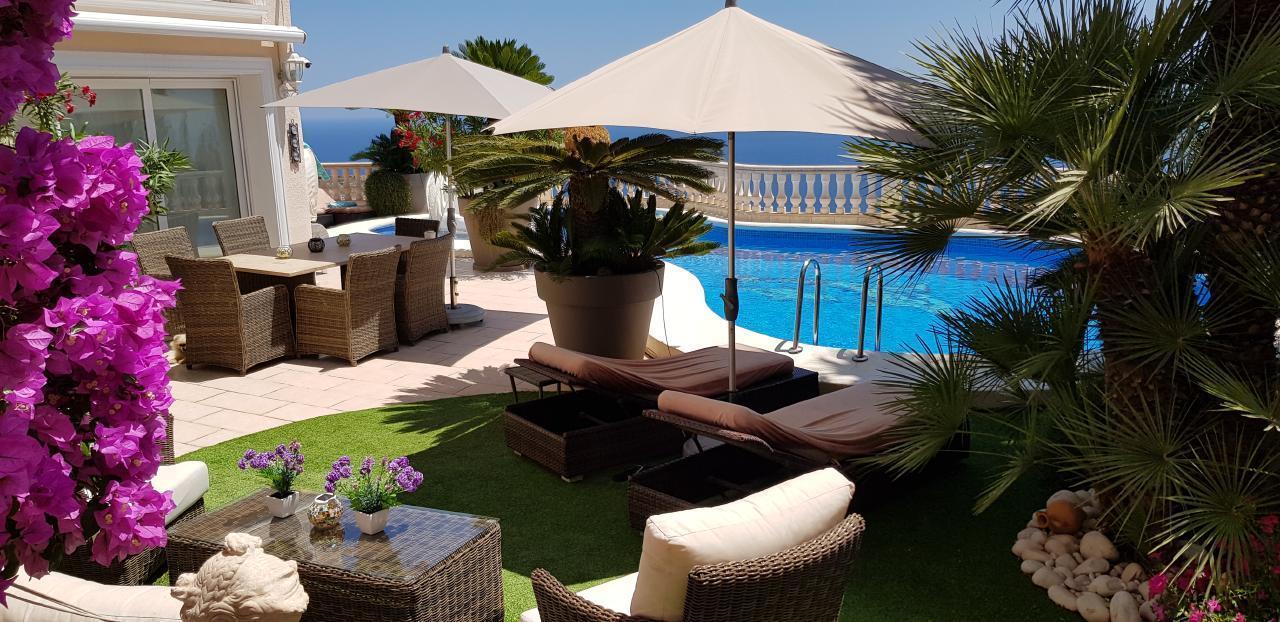 Maison de vacances Luxuriöse Villa mit traumhaftem Meerblick und tropischem Garten (1921916), Benitachell, Costa Blanca, Valence, Espagne, image 28