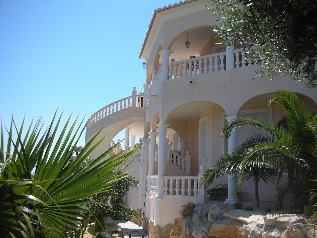 Maison de vacances Luxuriöse Villa mit traumhaftem Meerblick und tropischem Garten (1921916), Benitachell, Costa Blanca, Valence, Espagne, image 9