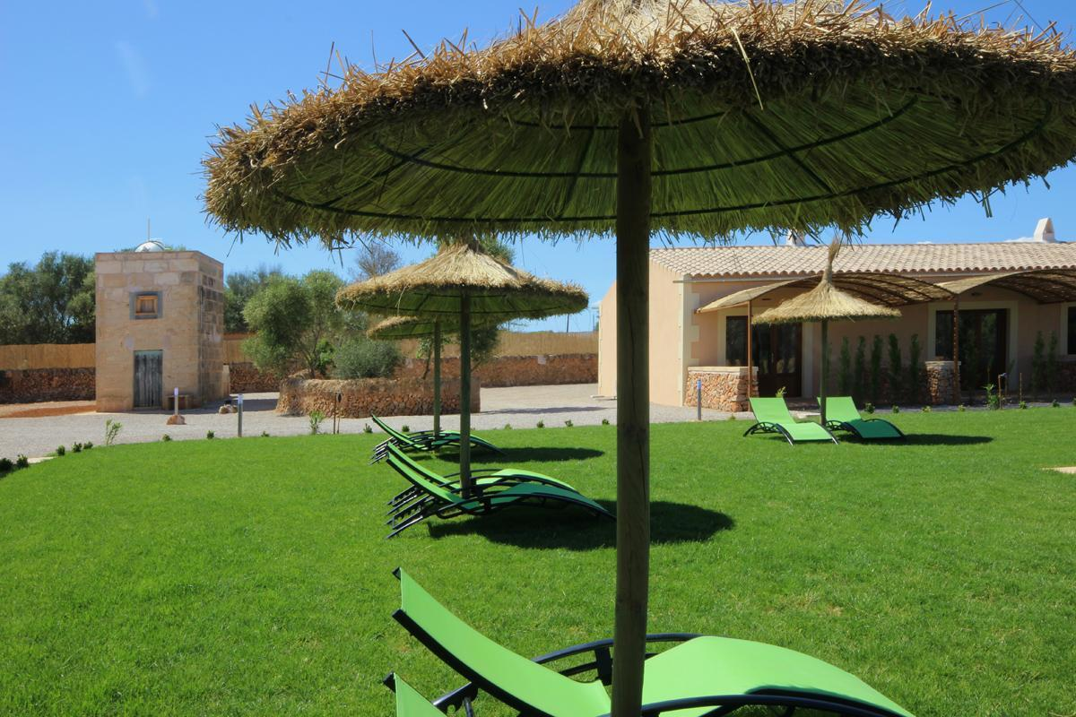 Apartament mit Pool Es Trenc Finca Can Angel IV