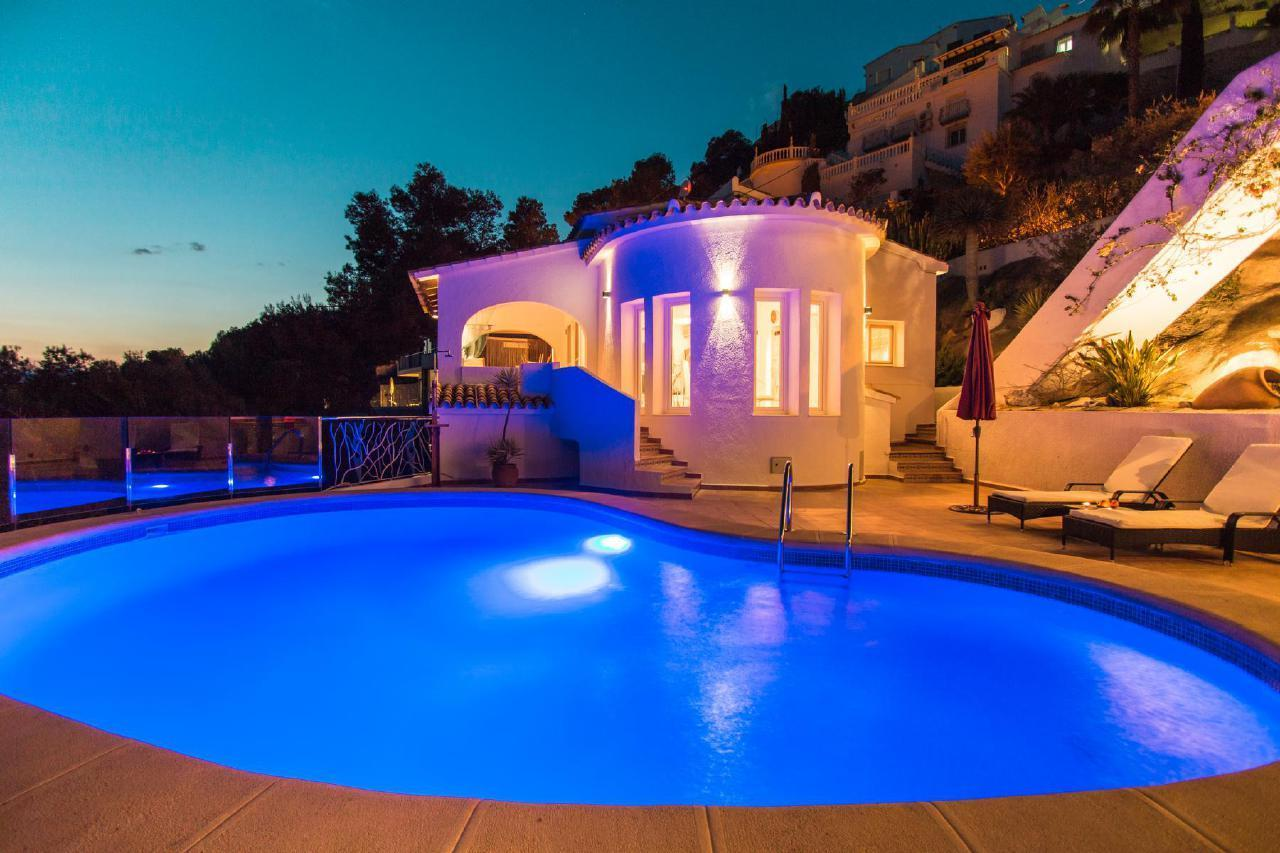 Casa Infinidad - Chill Out Villa mit Meerblick Ferienhaus in Spanien
