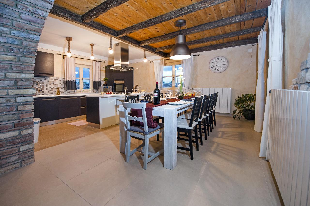 Maison de vacances Luxuriöse Villa Tomani mit Pool und Grill, geeignet für 10 Personen - Rabat 10/09 - 16/12/ (1932348), Krmed, , Istrie, Croatie, image 9