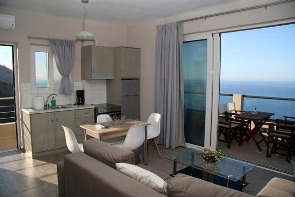 Ferienwohnung Akrotiri-Panorama apartments-South Crete