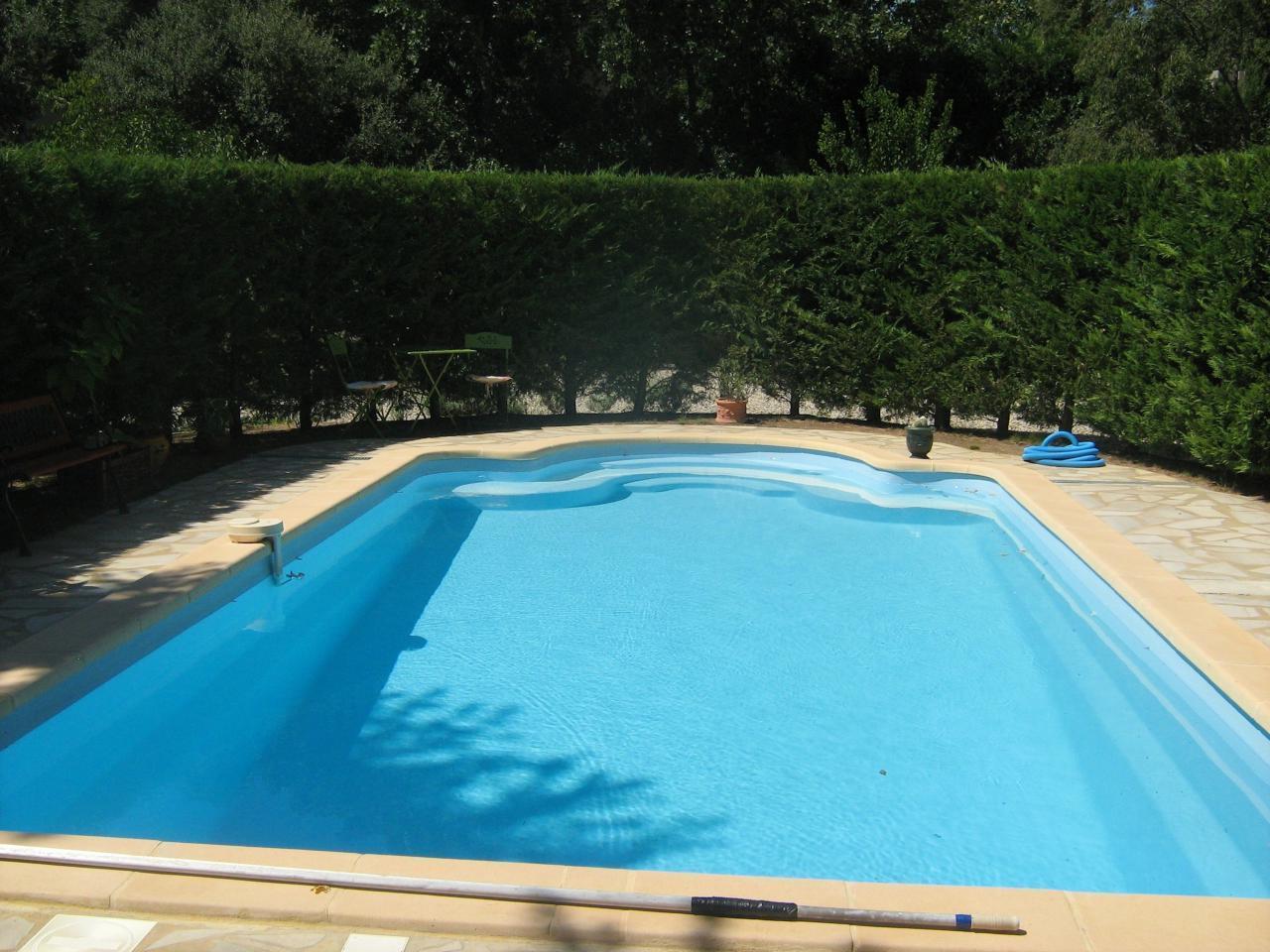 Ferienwohnung Provenzalische Gartenwohnung mit Pool zwischen Avignon, Orange und Uzès (1966060), Laudun l'Ardoise, Gard Binnenland, Languedoc-Roussillon, Frankreich, Bild 2