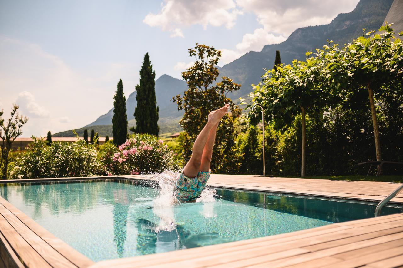 Ferienhaus Luxusvilla im Weindorf Kaltern am See mit Infinity Pool, Sauna, Weinkeller und großem Gart (1975236), Kaltern an der Weinstraße, Bozen, Trentino-Südtirol, Italien, Bild 12