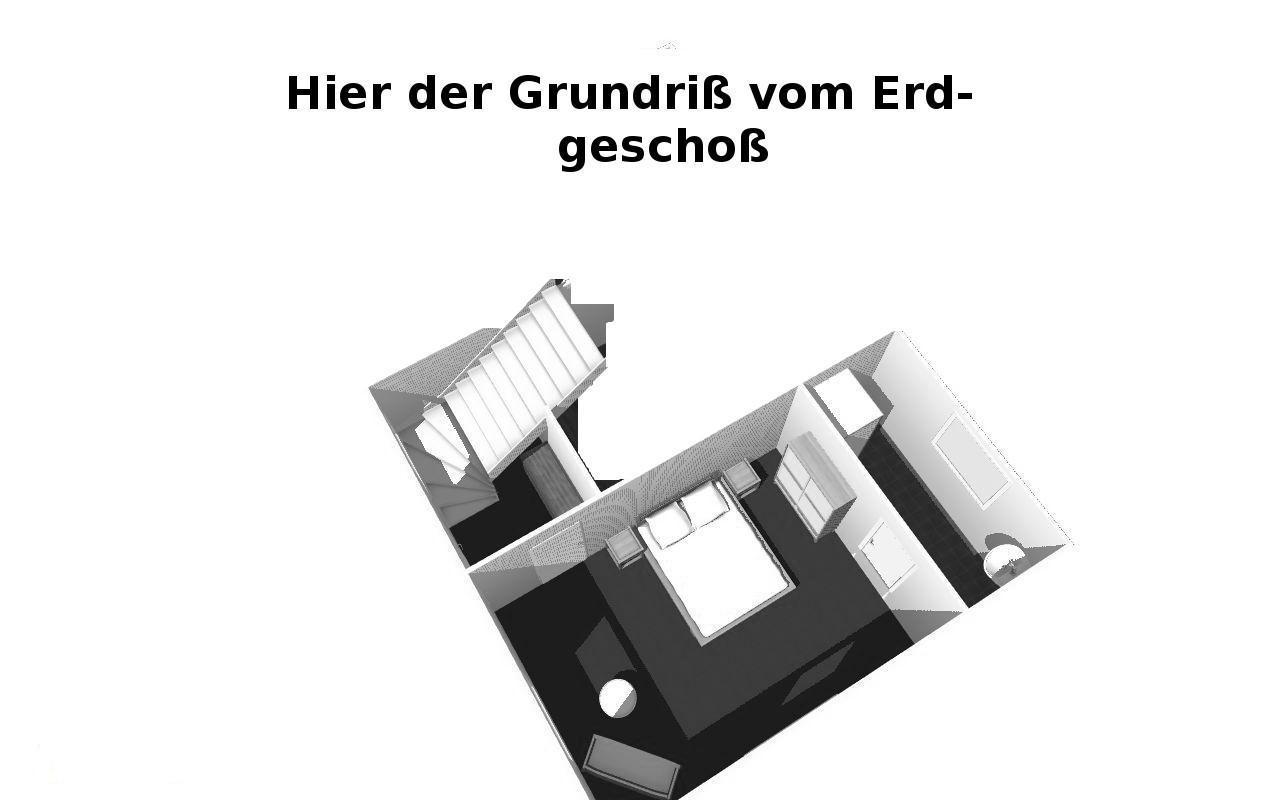 Erdgeschoß in 3D