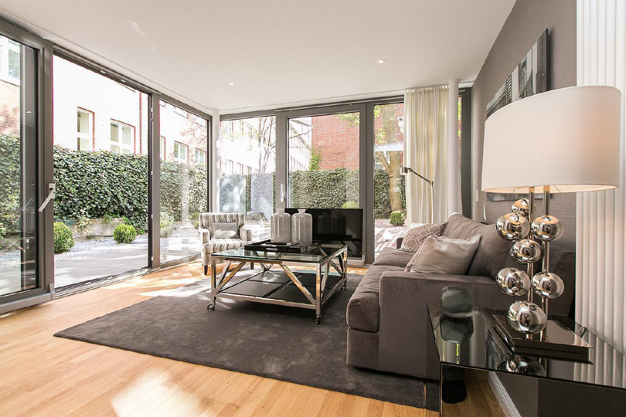 Ferienwohnung Exklusive Wohnung mit Garten - Winterhude (2007232), Hamburg, Hamburg-Nord, Hamburg, Deutschland, Bild 1
