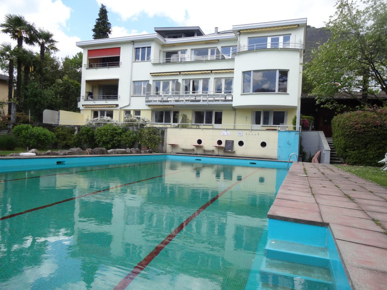 Holiday apartment Villa Primavera Studio12 (2025502), Minusio, Lake Maggiore (CH), Ticino, Switzerland, picture 1