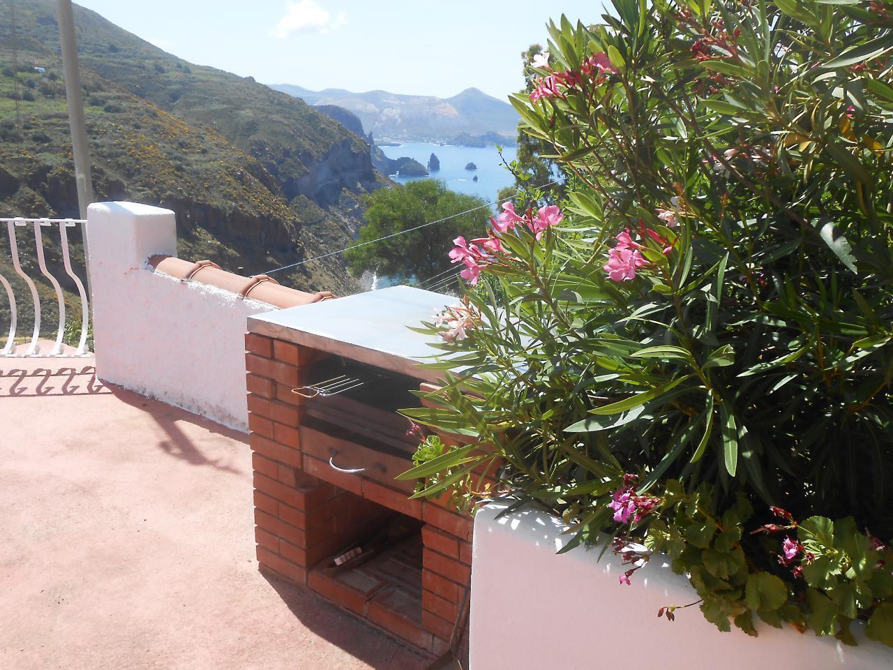 Maison de vacances Ferienhaushälfte Oleandro auf sizilianischer Insel mit atemberaubenden Meeres-Rundblick (2045159), Lipari, Lipari, Sicile, Italie, image 10