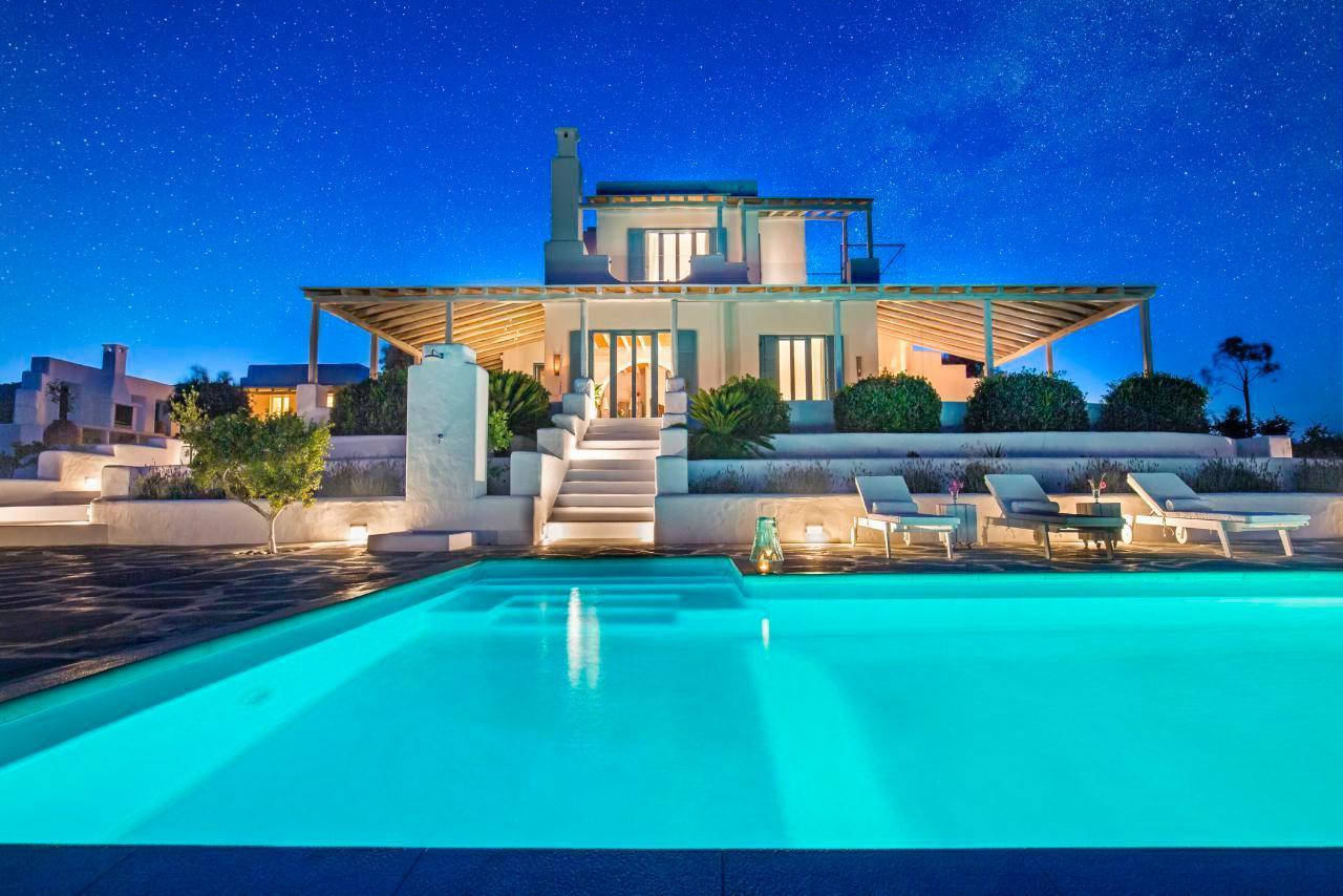 Ferienhaus Luxusvilla mit Pool, Meerblick und Jacuzzi (2055386), Lachania, Rhodos, Dodekanes, Griechenland, Bild 3