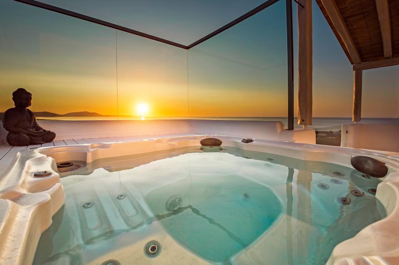 Ferienhaus Luxusvilla mit Pool, Meerblick und Jacuzzi (2055386), Lachania, Rhodos, Dodekanes, Griechenland, Bild 5