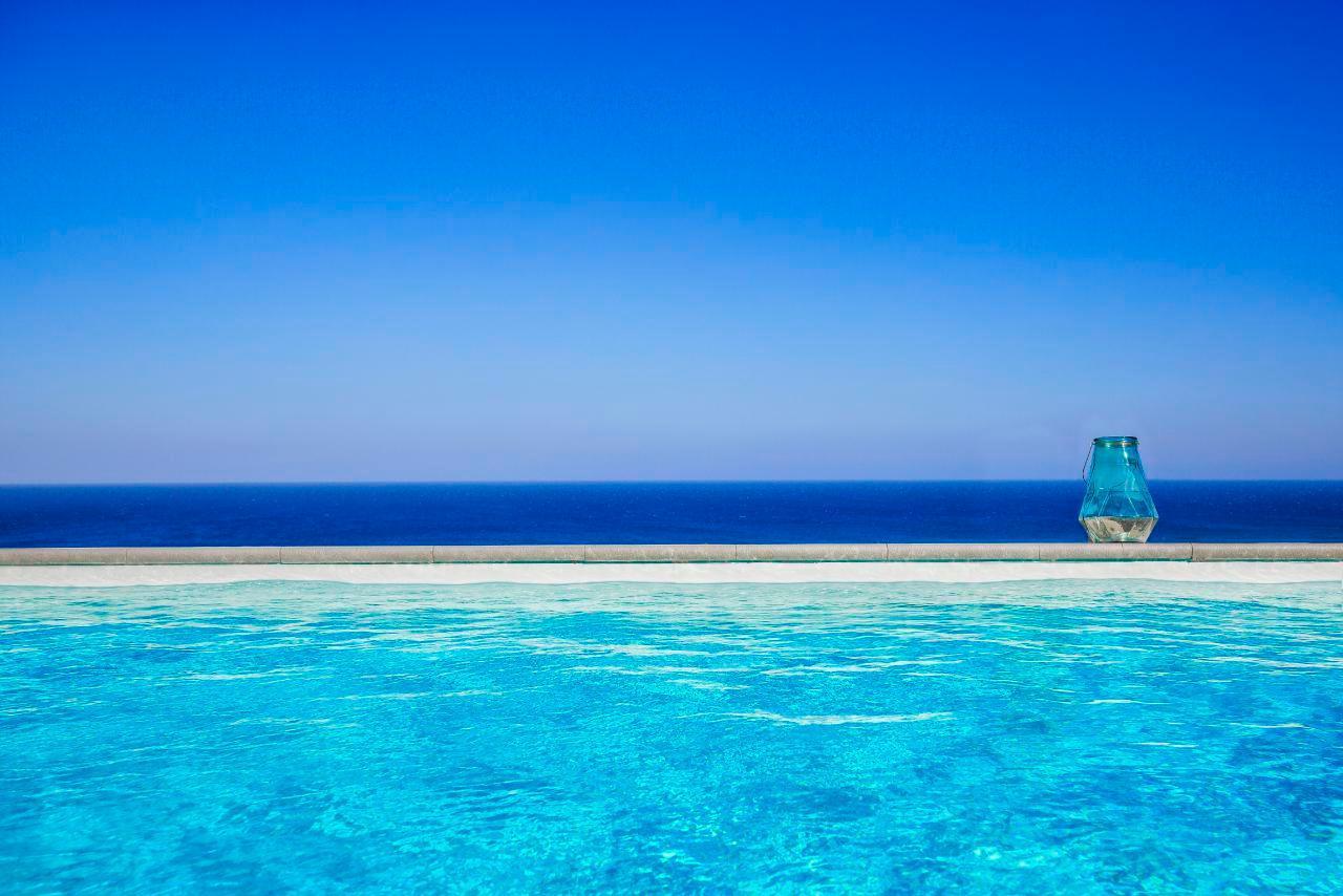 Ferienhaus Luxusvilla mit Pool, Meerblick und Jacuzzi (2055386), Lachania, Rhodos, Dodekanes, Griechenland, Bild 8