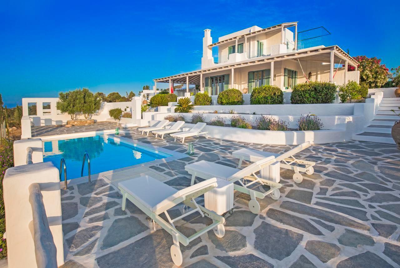 Ferienhaus Luxusvilla mit Pool, Meerblick und Jacuzzi (2055386), Lachania, Rhodos, Dodekanes, Griechenland, Bild 16