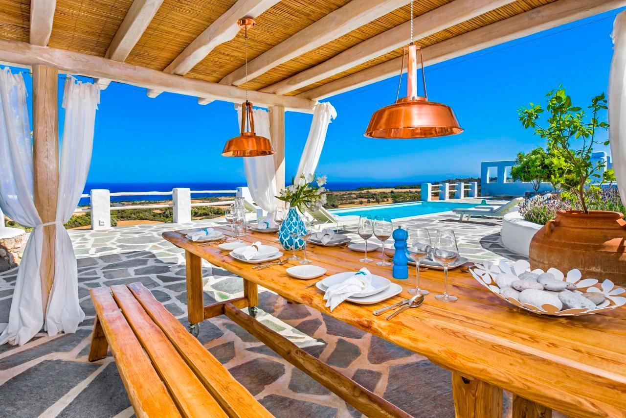 Ferienhaus Luxusvilla mit Pool, Meerblick und Jacuzzi (2055386), Lachania, Rhodos, Dodekanes, Griechenland, Bild 4