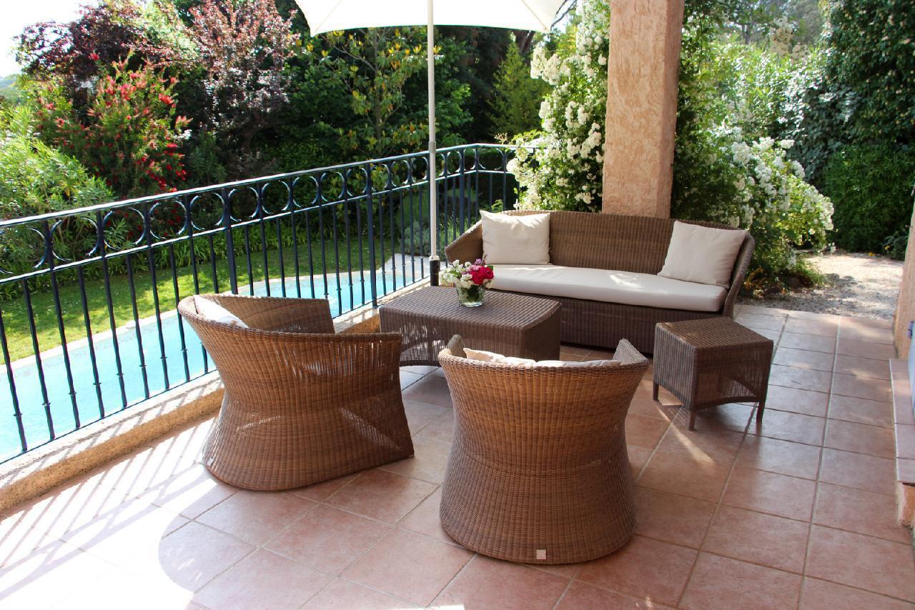 Ferienhaus Charmante Villa mit Pool und drei Schlafzimmern auf Golfplatz in Strandnähe (2060653), Saint Raphaël, Côte d'Azur, Provence - Alpen - Côte d'Azur, Frankreich, Bild 28