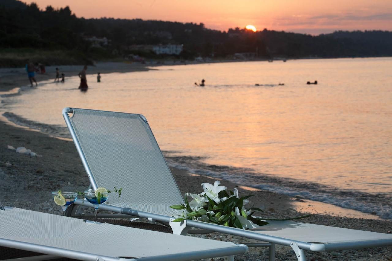 Appartement de vacances 'Sun Residence' Luxusdomizil mit exlusiven Appartements in Polichrono/Chalkidiki Ruhe + Er (2069050), Polichrono, Chalcidique, Macédoine, Grèce, image 18