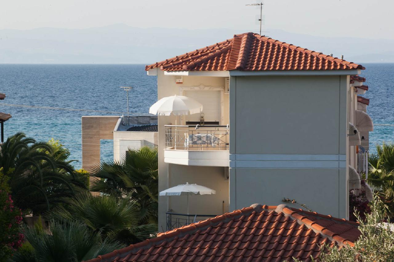 Appartement de vacances 'Sun Residence' Luxusdomizil mit exlusiven Appartements in Polichrono/Chalkidiki Ruhe + Er (2069050), Polichrono, Chalcidique, Macédoine, Grèce, image 21