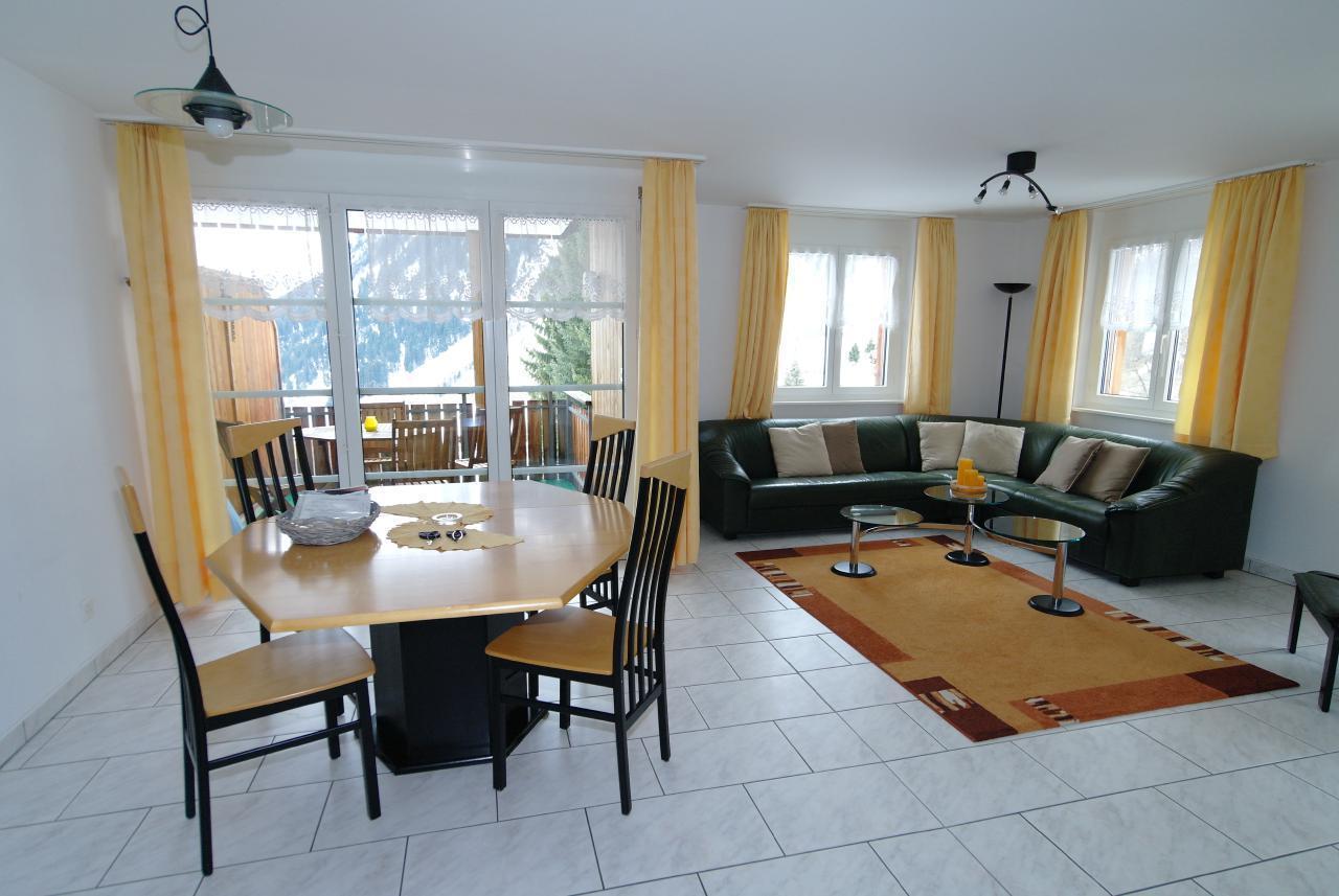Ferienwohnung Haus zum Chrachu / Wohnung 1. Stock West (2078607), Blatten b. Naters, Brig - Simplon, Wallis, Schweiz, Bild 1