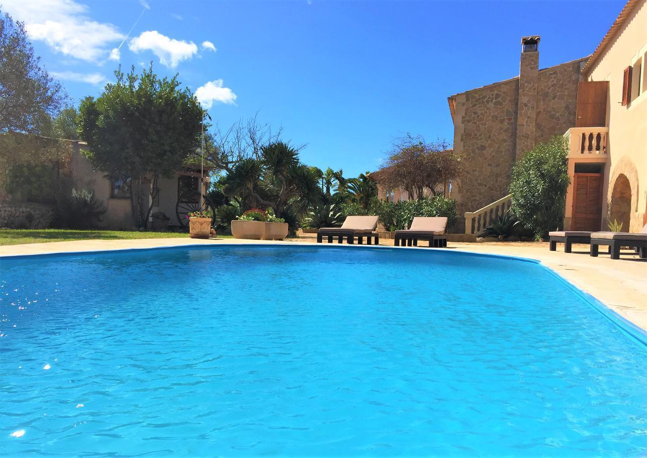 Mallorquinischen Stil Haus 2 km von Cala Sanau ideal für Familien gratis WiFi