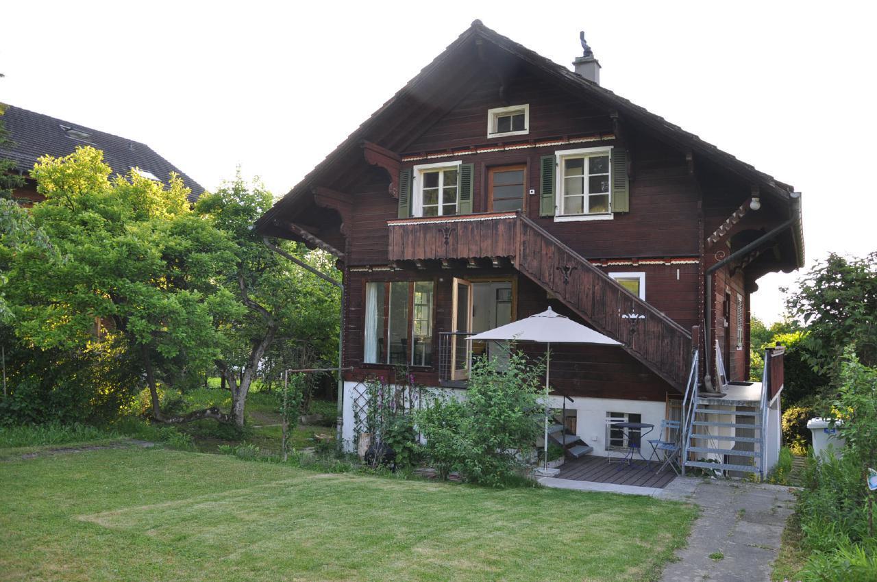 Kleine feine Gartenwohnung bei Luzern