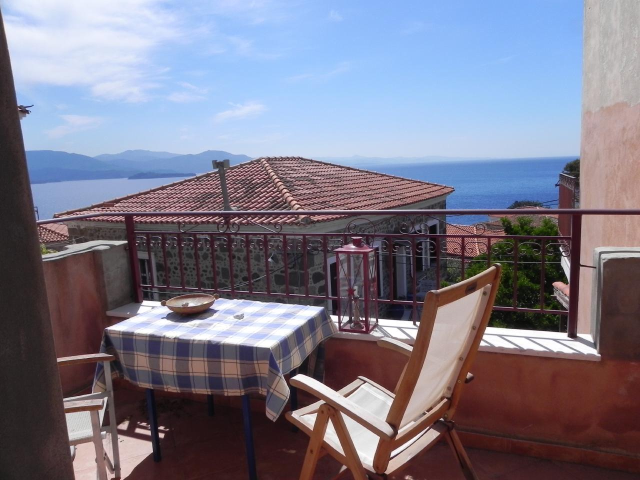Holiday house Marianthi - das Juwel im Herzen Molivos (2177447), Vafeios, Lesbos, Aegean Islands, Greece, picture 1