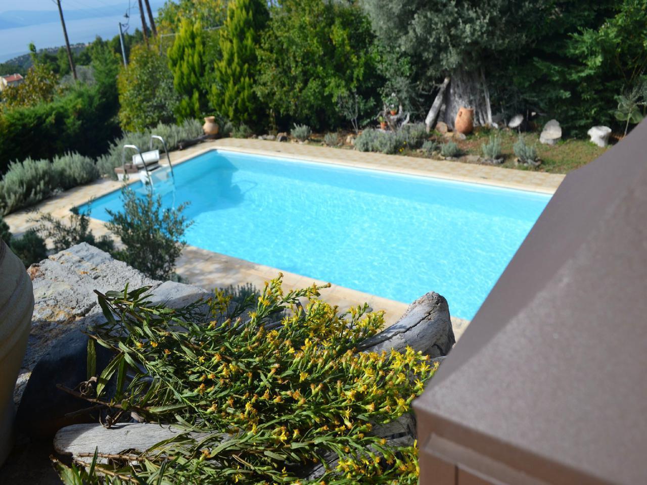 Ferienhaus Steinhaus auf Euböa mit privatem Pool, Wald & Meerblick (2179005), Nerotrivia, , Euböa, Griechenland, Bild 3
