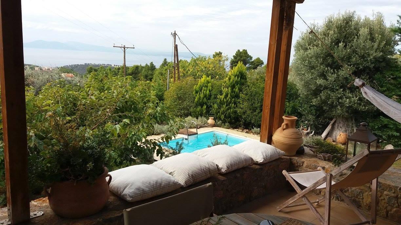 Ferienhaus Steinhaus auf Euböa mit privatem Pool, Wald & Meerblick (2179005), Nerotrivia, , Euböa, Griechenland, Bild 13