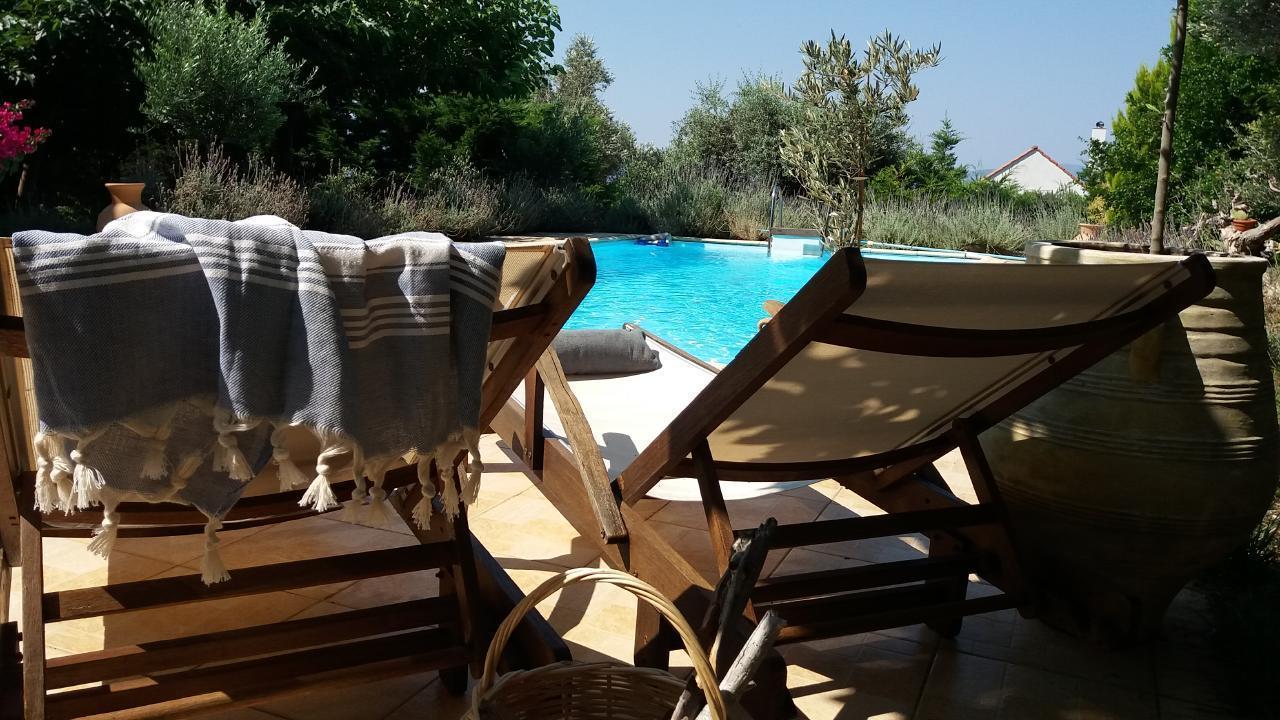 Ferienhaus Steinhaus auf Euböa mit privatem Pool, Wald & Meerblick (2179005), Nerotrivia, , Euböa, Griechenland, Bild 7