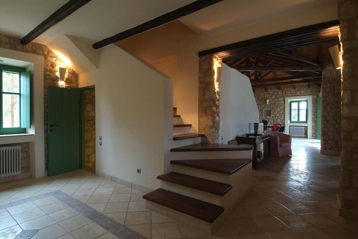 Ferienhaus Geräumiges Steinhaus mit Infinity-Pool & atemberaubender Aussicht (2185488), Githio, , Peloponnes, Griechenland, Bild 26