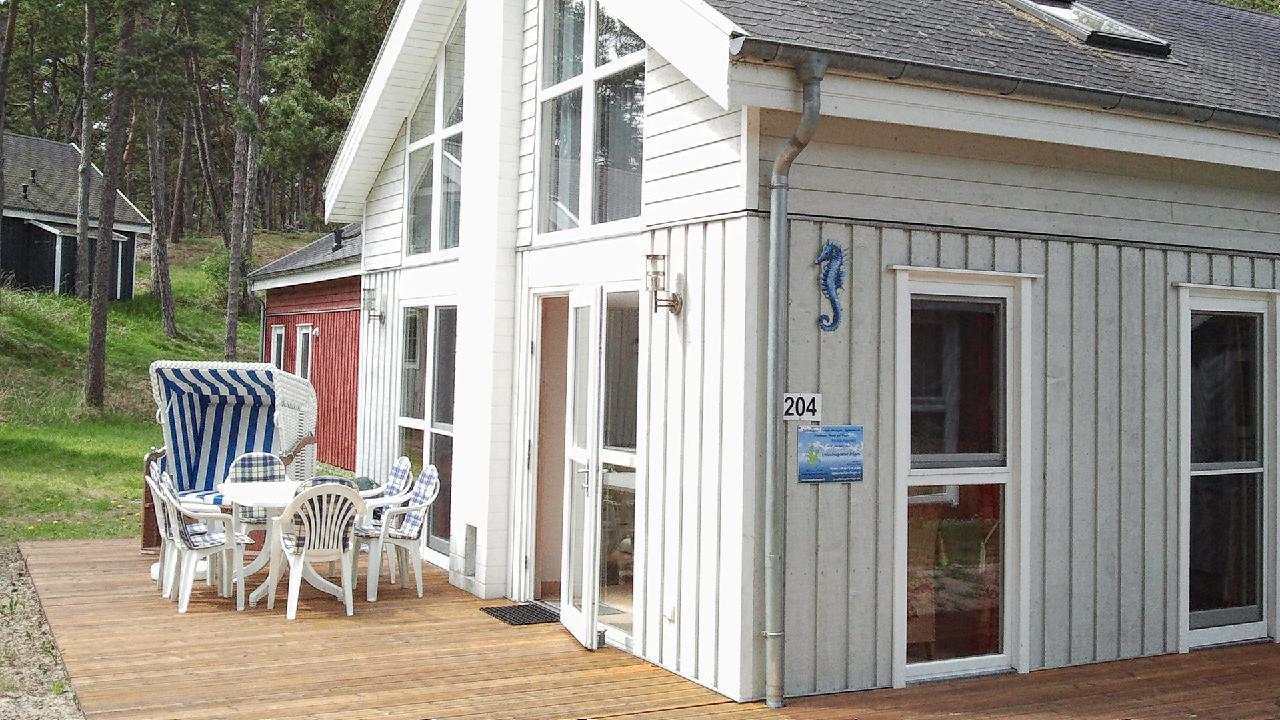 Ferienhaus Seepferdchen nur 50 Meter bis zum Stran Ferienhaus auf Rügen