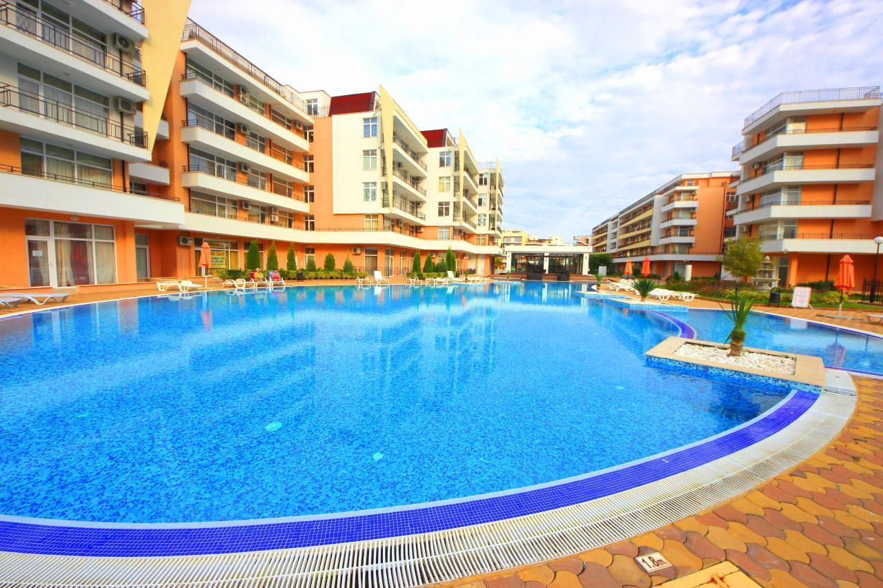 Grand Kamelia G3 8 Sunny Beach Apartment 4 personen