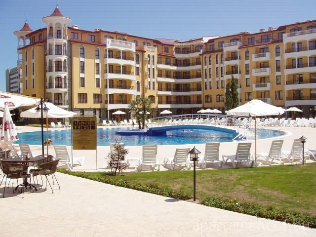 Royal Sun E47 Sunny Beach Apartment 4 personen