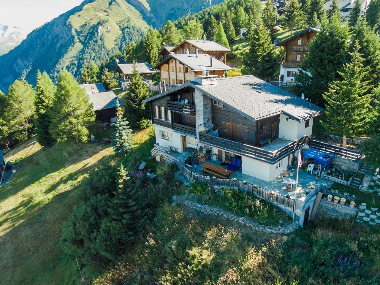 Ferienwohnung Chalet Panorama | majestätische Aussicht über die Walliser Alpen (2311749), Rosswald, Brig - Simplon, Wallis, Schweiz, Bild 1