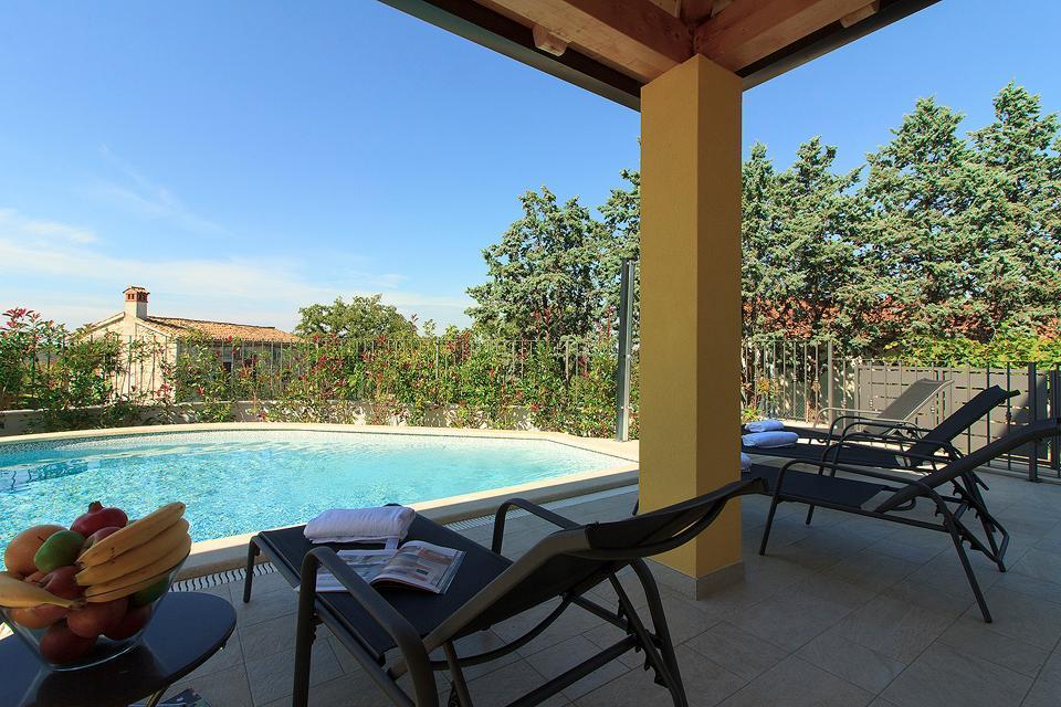Ferienhaus Schöne neue Villa Mugeba I mit Pool, max 6 + 2 Personen, nur 2km vom Strand entfernt, nähe (2322769), Mugeba, , Istrien, Kroatien, Bild 4