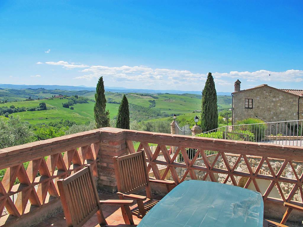 Ferienwohnung Privat Apartment mit Ausblick (2326567), Asciano, Siena, Toskana, Italien, Bild 1