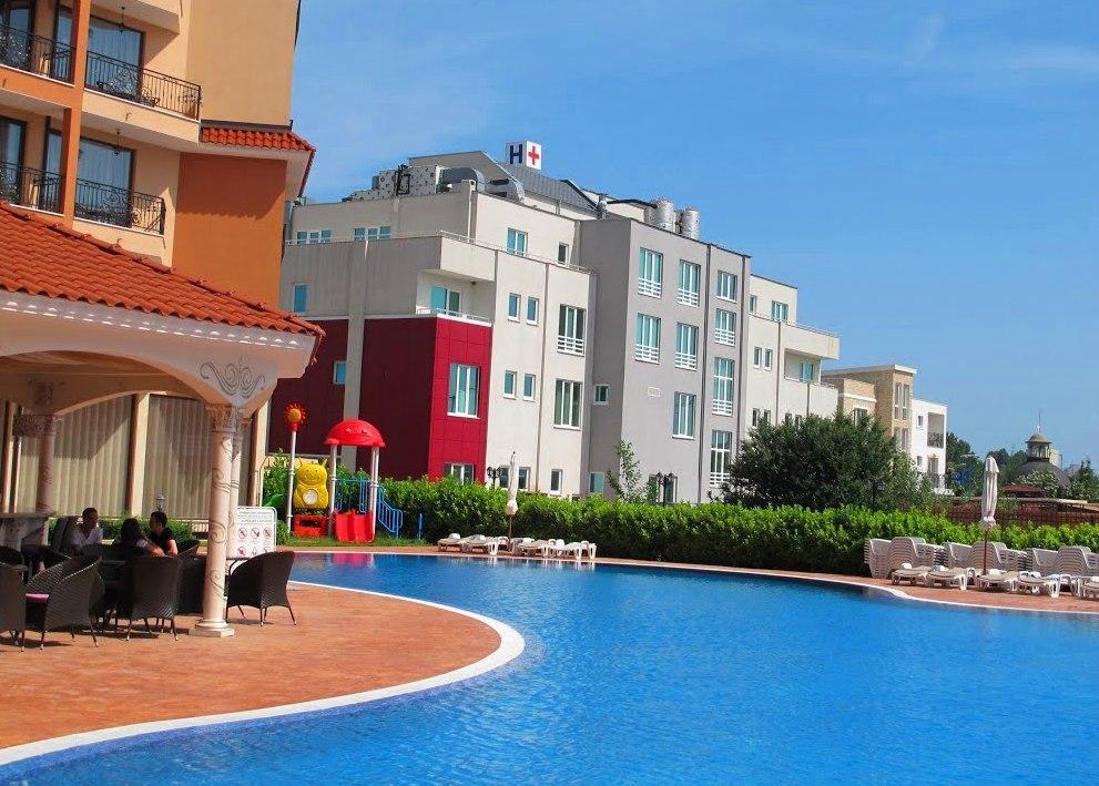 DIAMANT RESIDENCE Ferienwohnung 43B Sonnenstrand 1 Schlafzimmer 4 Personen