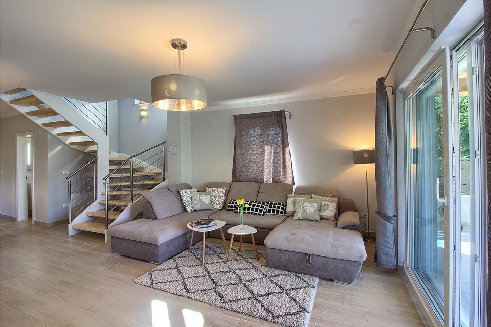 Ferienhaus Schöne Villa mit 2 privaten Pools, 6 Schlafzimmern, 6 Badezimmern, 2 km vom Strand entfern (2329516), Mugeba, , Istrien, Kroatien, Bild 34
