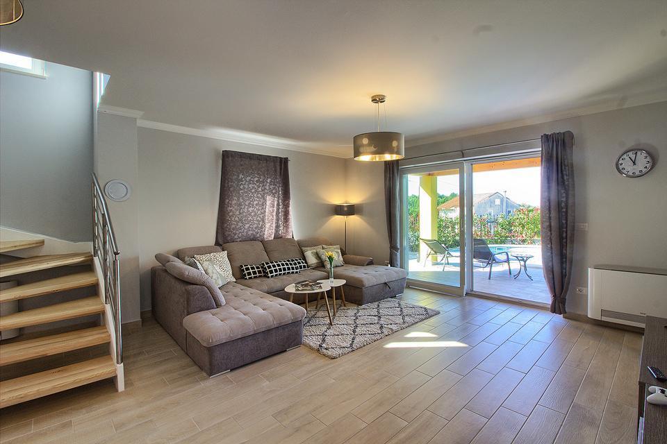 Ferienhaus Schöne Villa mit 2 privaten Pools, 6 Schlafzimmern, 6 Badezimmern, 2 km vom Strand entfern (2329516), Mugeba, , Istrien, Kroatien, Bild 32