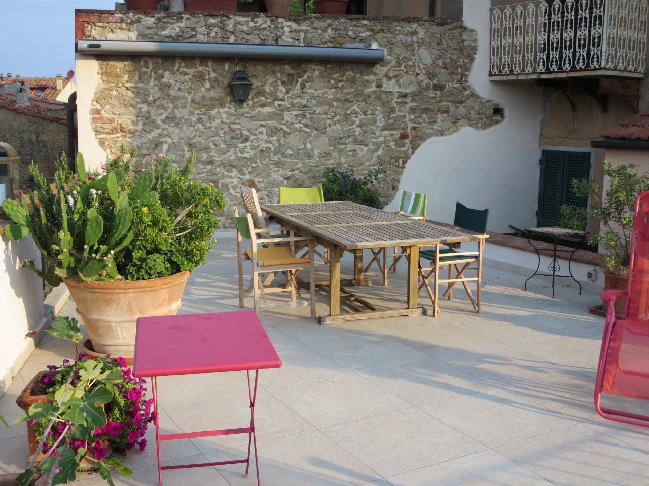 Holiday apartment Charmantes, neu renoviertes Appartement mit herrlicher Dachterrasse in einem typisch toska (2346343), Castagneto Carducci, Livorno, Tuscany, Italy, picture 17
