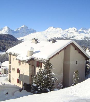 Ferienwohnung Chesa Panorama (239004), Pontresina, Oberengadin - St. Moritz, Graubünden, Schweiz, Bild 15