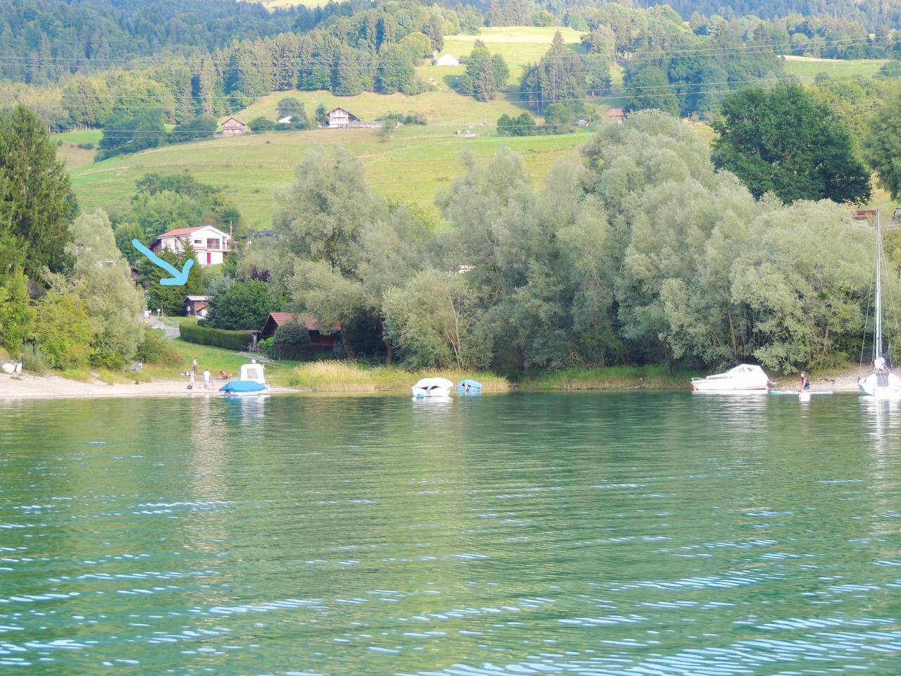 Ferienhaus Chalet La Libellule - Lune d'eau (2394034), Hauteville, , Freiburg, Schweiz, Bild 14