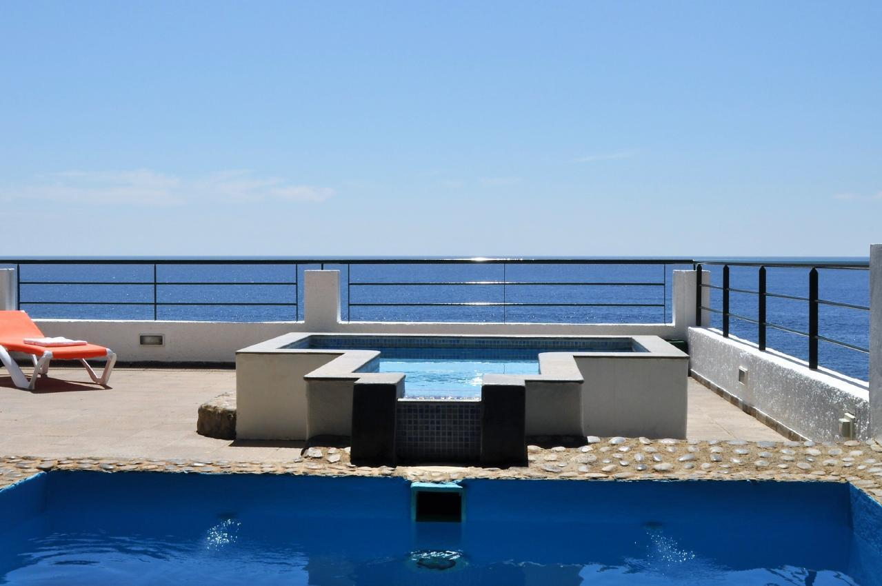 Maison de vacances GUACIMARA - Spektakuläre Aussicht, beheizter Pool, Sauna, Naturstran, relax... (2409670), Igueste Puertecito, Ténérife, Iles Canaries, Espagne, image 7