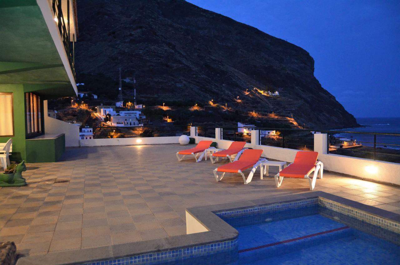 Maison de vacances GUACIMARA - Spektakuläre Aussicht, beheizter Pool, Sauna, Naturstran, relax... (2409670), Igueste Puertecito, Ténérife, Iles Canaries, Espagne, image 20