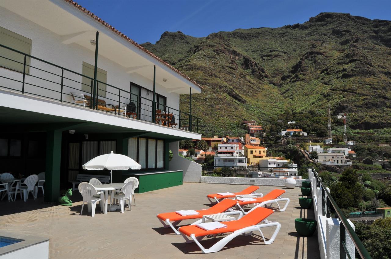 Maison de vacances GUACIMARA - Spektakuläre Aussicht, beheizter Pool, Sauna, Naturstran, relax... (2409670), Igueste Puertecito, Ténérife, Iles Canaries, Espagne, image 5