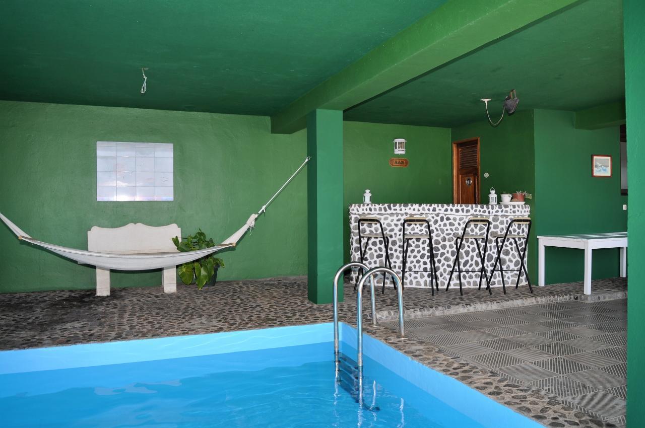 Maison de vacances GUACIMARA - Spektakuläre Aussicht, beheizter Pool, Sauna, Naturstran, relax... (2409670), Igueste Puertecito, Ténérife, Iles Canaries, Espagne, image 8