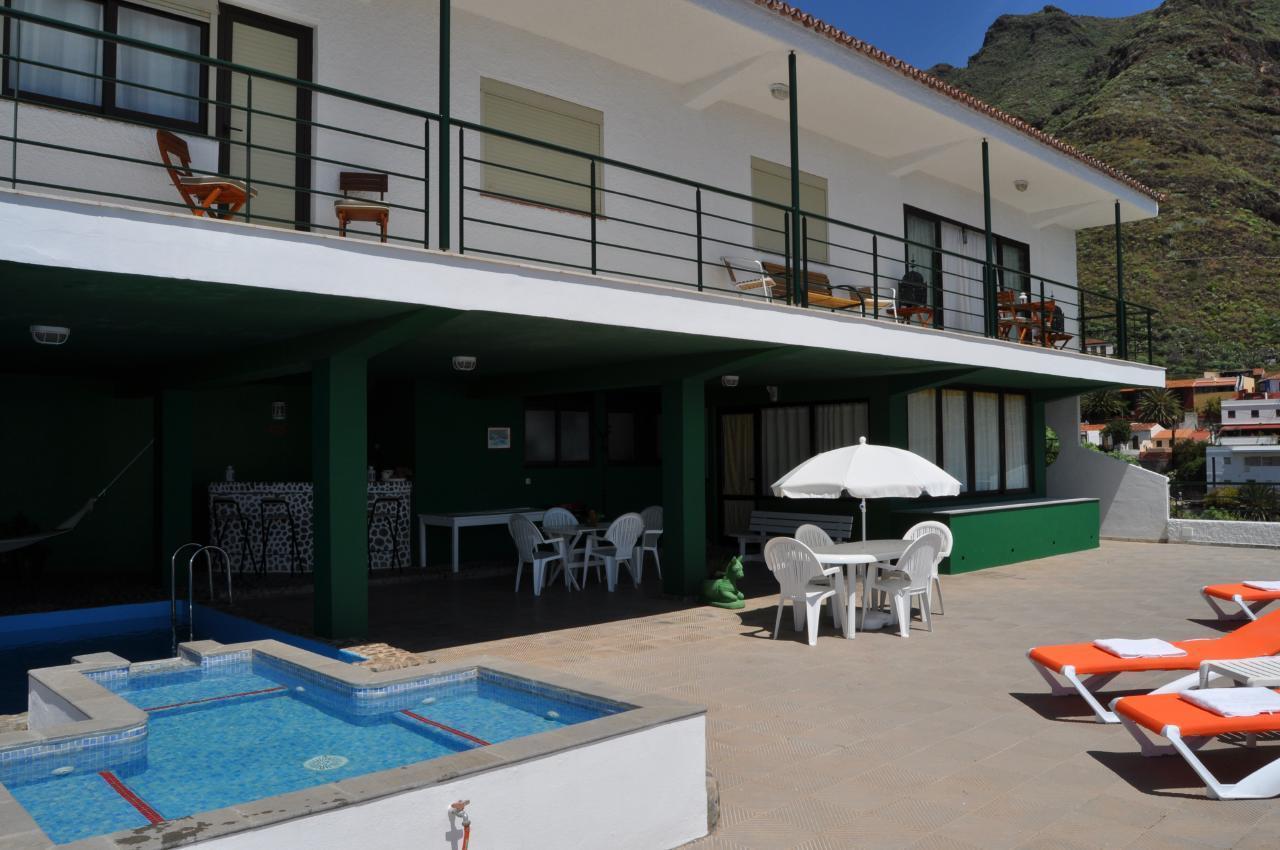 Maison de vacances GUACIMARA - Spektakuläre Aussicht, beheizter Pool, Sauna, Naturstran, relax... (2409670), Igueste Puertecito, Ténérife, Iles Canaries, Espagne, image 9