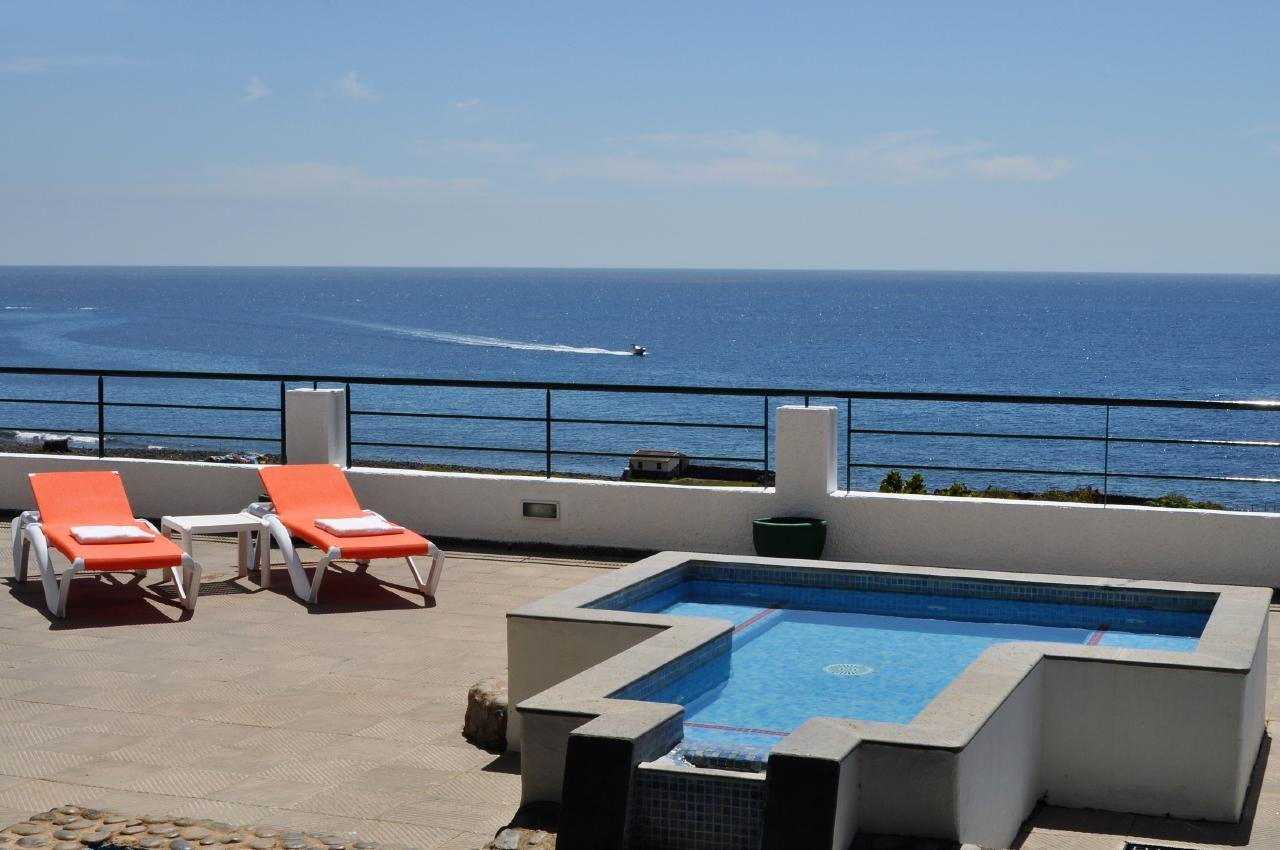 Maison de vacances GUACIMARA - Spektakuläre Aussicht, beheizter Pool, Sauna, Naturstran, relax... (2409670), Igueste Puertecito, Ténérife, Iles Canaries, Espagne, image 4