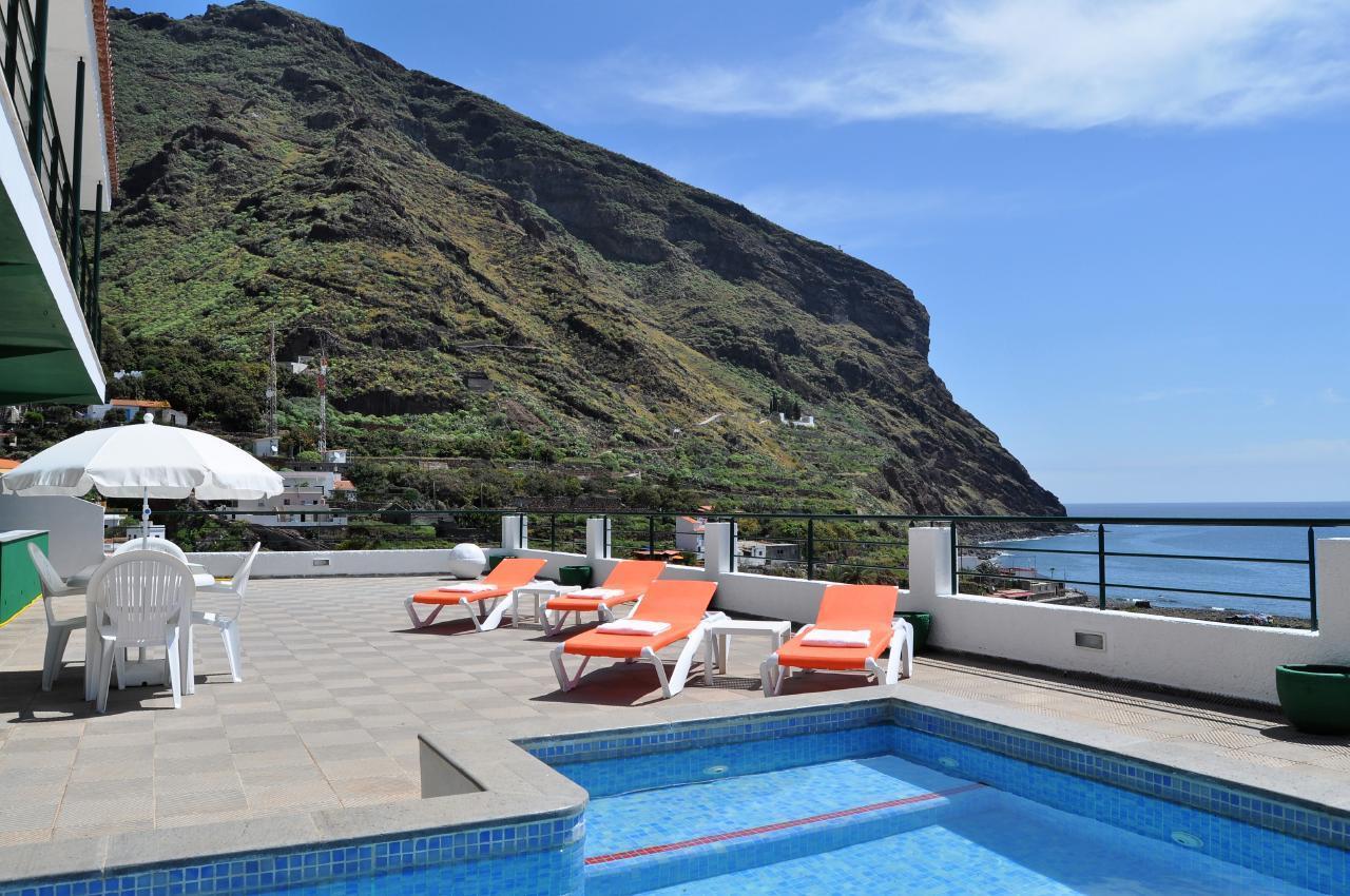 Maison de vacances GUACIMARA - Spektakuläre Aussicht, beheizter Pool, Sauna, Naturstran, relax... (2409670), Igueste Puertecito, Ténérife, Iles Canaries, Espagne, image 2