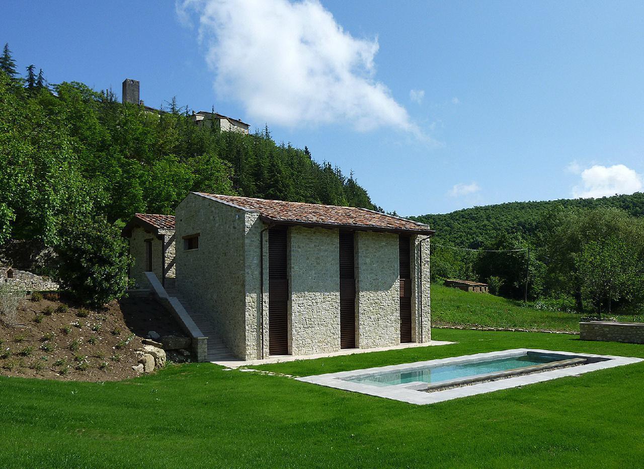 Wundervolle Villa in Umbrien mit Smart Home Sky TV Sauna Jacuzzi beheizter Pool