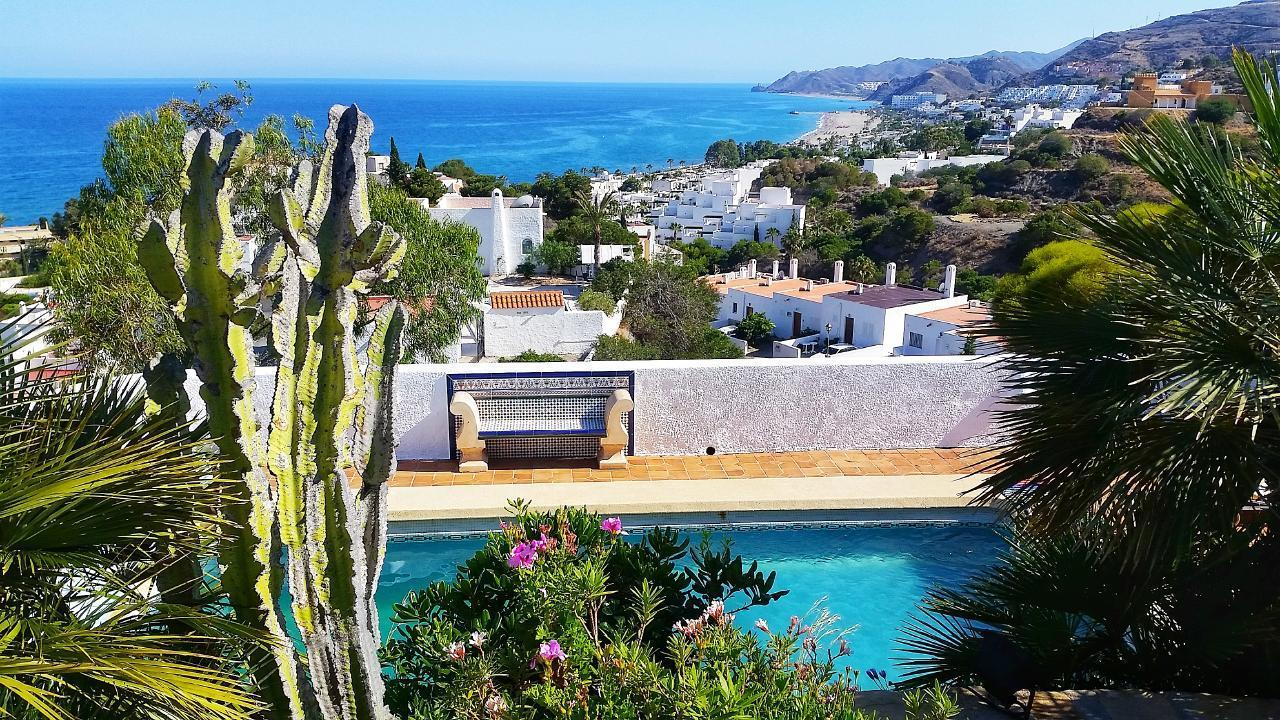 Ferienhaus Villa im maurischen Stil mit großartigem Blick auf das Meer (2413053), Mojacar, Costa de Almeria, Andalusien, Spanien, Bild 3